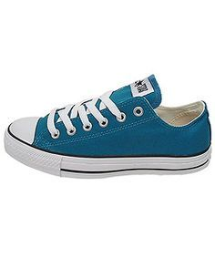 If some certain bridesmaids wanted to do a dapper look with some teal colored Chucks, I wouldn't say no...Converses from Overstock.com