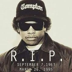ADRIAN AVILA 2PAC&EAZY-E. TODAY MARK'S THE 21ST ANNIVERSARY OF ERIC EAZY-E WRIGHT'S DEAD..