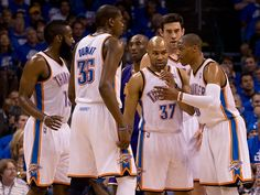 Great season for my OKC boys!!!!! You win some you lose some but we have class and the loudest fan base in the NBA and that won't change. 2013 is going to be our year!