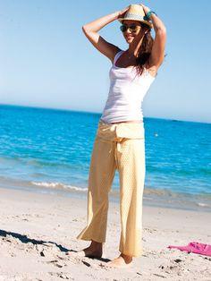FREE PATTERN Bali pants women size :: Pantalones Bali PATRÓN GRATIS