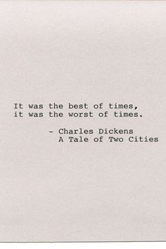 Graduation Quotes Discover Items similar to Charles Dickens Quote Made on Typewriter Quote Art - A Tale of Two Cities - It was the best of times it was the worst of times. Senior Qoutes, Senior Year Quotes, Senior Yearbook Quotes, Senior Quotes High School Graduation, Best Senior Quotes, High School Graduation Quotes, Senior Year Of High School, Law School, The Words