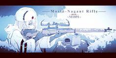 Anime Military, Military Girl, Anime Artwork, Fantasy Artwork, Fox Girl, Anime Weapons, Girls Frontline, Girls Characters, Bungo Stray Dogs