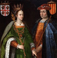 @greathistory posted to Instagram: Petronilla of Aragon and Ramon Berenguer IV, Count of Barcelona, dynastic union of the Crown of Aragon. Copy attribued to Francisco Camilo and Andrés Urzanqui (1634), based on a original of Filippo Ariosto (1586). - Museo del Prado - Catalonia - Wikipedia . For a great virtual travel experience to with your class, try my Spanish Culture Worksheet: 23 Multiple-Choice Questions to go with the Barcelona & Cataluña episode of Rick Steves' Europe, currently avai Barcelona, Virtual Travel, Spanish Culture, Prado, Cover Photos, Family History, Told You So, This Or That Questions, Count