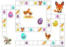C'est bientôt Pâques et nous nous préparons à la chasse aux œufs. Du coup j'ai crée un petit jeu sur ce thème. Pour 2 à 4 Joueurs ...