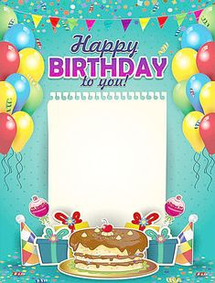 Happy Birthday Cards Online, Happy Birthday Gif Images, Birthday Party Images, Happy Birthday Invitation Card, Happy Birthday Posters, Happy Birthday Frame, Birthday Frames, Happy Birthday Messages, Happy Birthday Greetings