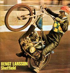 Bengt Larsson - Sheffield 1970 Speedway isn't as easy as it looks!