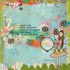 This sentiment is the story of my life!  Art Journal Caravan™ | Studio Tangie