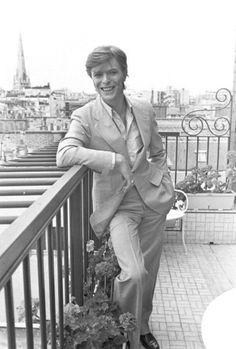 David Bowie (1947-2016) Paris,Mai 1977 Photo:Jean-Claude Deutsch/Paris Match