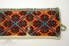Telemark Museum Norway, Zip Around Wallet, Museum, Embroidery, Clothing, Diy, Outfits, Needlepoint, Bricolage