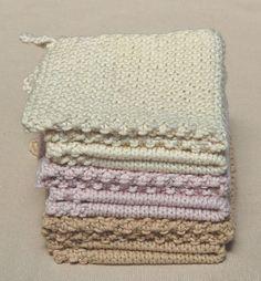 Wedding Washcloths - the purl bee