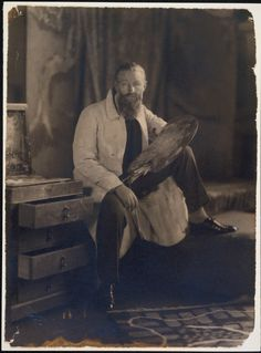 The Artist Kees van Dongen, 1926 Photography by James Abbe (American, 1883 – 1973)