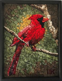 The mosaic art leads the way in adding a touch of something bright creative and . The mosaic art l Mosaic Tile Art, Mosaic Artwork, Mosaic Pots, Mosaic Tables, Pebble Mosaic, Mosaics, Mosaic Animals, Mosaic Birds, Mosaic Art Projects