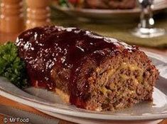 Dazzle the gang with this irresistible BBQ Cheddar Meatloaf.a rolled meat loaf that oozes with cheese. Meatloaf Recipe Bbq Sauce, Classic Meatloaf Recipe, Meat Loaf Recipe Easy, Meatloaf Recipes, Best Ground Beef Recipes, Healthy Beef Recipes, Cooking Recipes, Easy Cooking, Cooking Tips