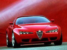 Alfa Romeo Brera V6 Q4 SV Front    I wish Alfa would come back to the states...