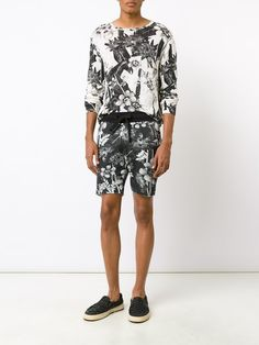 Osklen 'Flower Shop' bermuda shorts
