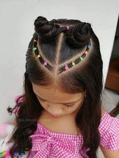 Cute Toddler Hairstyles, Lil Girl Hairstyles, Kids Braided Hairstyles, Princess Hairstyles, Easy Little Girl Hairstyles, Girl Hair Dos, Hair Patterns, Hair Due, Hair Creations