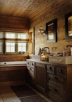 40 Rustic Bathroom Designs - Interior Design Ideas Home Designs Bedroom Living Room Designs