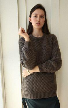 Anaïse | Chalayan Cord Sleeve Knit Jumper