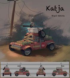 Katja, Tien Luu on ArtStation at https://www.artstation.com/artwork/aELLk