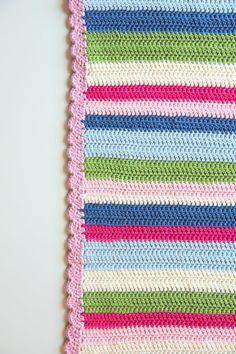 Crochet pattern baby blanket by creJJtion on Etsy, €7.00