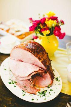 How To Bake a Honey-Glazed Ham
