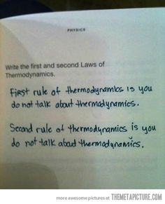 I probably would have done so much better in Thermo if I'd thought of this ;)