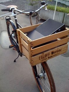 47 Best Bicycle Crates Images In 2014 Bicycle Crates Bike