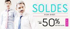 Bonnes affaires pour vous messieurs, jusqu'à -50% chez ATELİER Privé!