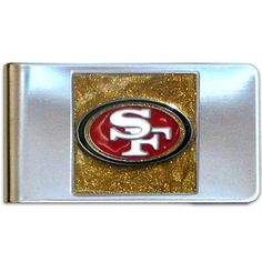 NFL San Francisco 49ers Steel Money Clip by Siskiyou. $8.76. Stainless Steel Clip. Officially Licensed. Sculpted and Enameled Team Emblem. NFL  Steel Money Clip. Save 56%!