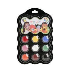 Shop for Grim 'tout 9 Carnival Color Face Paints. Get free delivery On EVERYTHING* Overstock - Your Online Toys & Hobbies Shop! Painted Trays, Painted Cups, Painted Sticks, Maquillage Grim Tout, Fabric Paint Pens, Crayon Holder, Cosmetics Industry, Polymer Clay Crafts, Toys For Girls