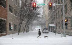 El alcalde neoyorquino, Bill de Blasio, decretó el estado de emergencia por temporal de invierno para este sábado. FOTO AP
