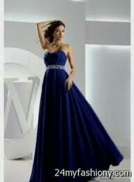 Strapless Dress Formal, Formal Dresses, Ball Gowns, Blue, Fashion, Dresses For Formal, Ballroom Gowns, Moda, Formal Gowns