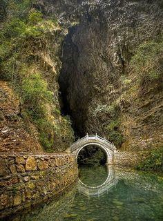 Лунный мост, Хунань, Китай
