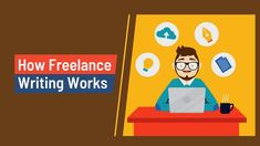 Freelance Writing is the practice of writing for money while working on one's own and not being employed by a company or organization. Freelance writers produce whatever written text is needed by their clients. Either working from home or in a rented office space. Writing Words, Blog Writing, Freelance Writing Jobs, Copywriting, Trending Topics, Design Development, New Work, How To Become, Ebooks