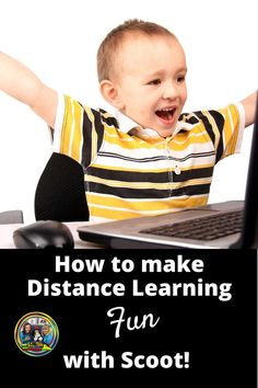 How do teachers make distance learning fun? Read about these fun ideas for Scoot games for kindergarten, first and second grade that you can do during social distancing. These games can be played at home as well as in an elementary classroom. Grab your free Scoot game with manipulatives and try it out today! #scootgames#distancelearning#mathgames Learning Resources, Teaching Tools, Fun Learning, Teacher Resources, Teaching Ideas, School Fun, High School, New Teachers, Addition And Subtraction
