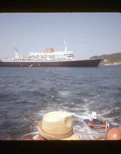 ORIGINAL 35mm SLIDE SS VEENDAM HOLLAND AMERICA LINE OCEAN LINER 2-110 1974 • CAD 6.72 - PicClick CA