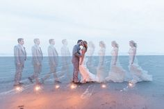 time lapse wedding photography by B. Jones Photography