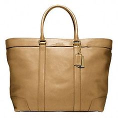 Coach :: BLEECKER LEGACY LEATHER WEEKEND TOTE