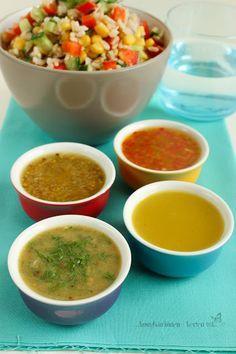 ...konyhán innen - kerten túl...: Salátaöntet variációk - citromos-olívaolajos alapp...