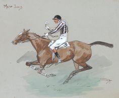 Charlie Johnson Payne, 'Snaffles' (British, 1884-1967) 'Major Junks.'