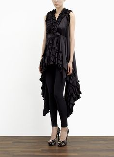 #thomas wylde #ruffle dress
