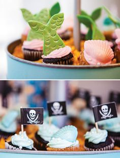 Joint Pirates & Mermaids Birthday Party