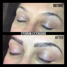 Eyebrow Extensions now available
