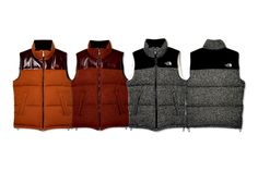 Comme des Garcons Junya Watanabe x The North Face Outerwear eYe Down Vest Collection