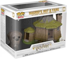 Buy Harry Potter Hagrid's Hut with Fang Funko Pop! Town from Pop In A Box UK, the home of Funko Pop Vinyl subscriptions and more. Harry Potter Film, Harry Potter Hagrid, Harry Potter Pop Vinyl, Funko Pop Harry Potter, Pop Figurine, Figurines Funko Pop, Cho Chang, Figurine Pop Harry Potter, Collection Harry Potter