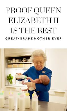 Proof Her Royal Highness Queen Elizabeth II Is the Best Great Gan-Gan in all the Land via @PureWow
