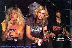 Steven Adler - Duff McKagan - Slash