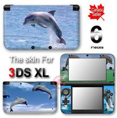 Dolphin nintendo 3ds skin design