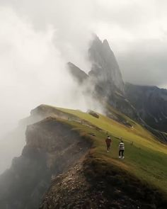 Running along the beautiful Seceda mountains in South Tyrol, Italy must be an incredible experience! Tag them! Wild Life, Places To Travel, Places To Visit, Travel Destinations, Nature Photography, Travel Photography, Drone Photography, South Tyrol, Destination Voyage