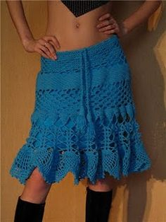 Crocheted skirts